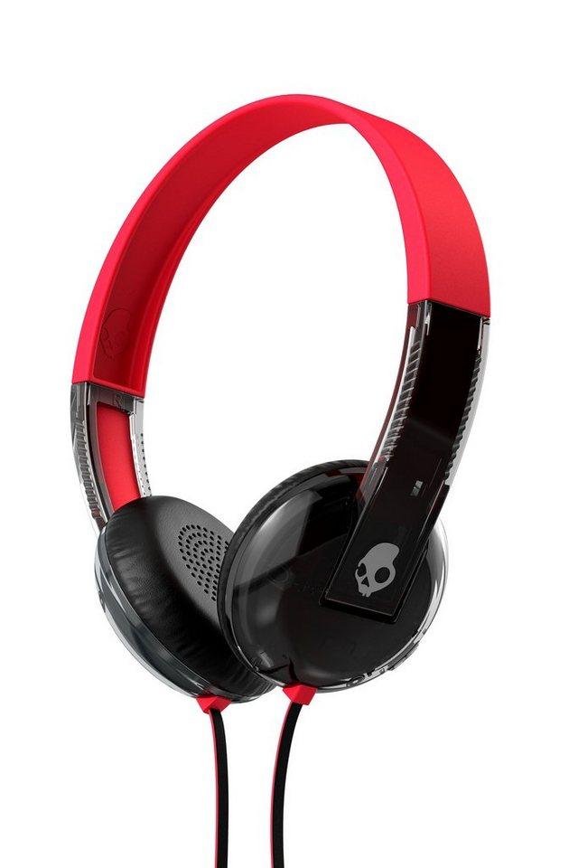 Skullcandy Headset »UPROAR ON-EAR W/TAP TECH SPACED OUT/SMOKE/CHROME« in schwarz