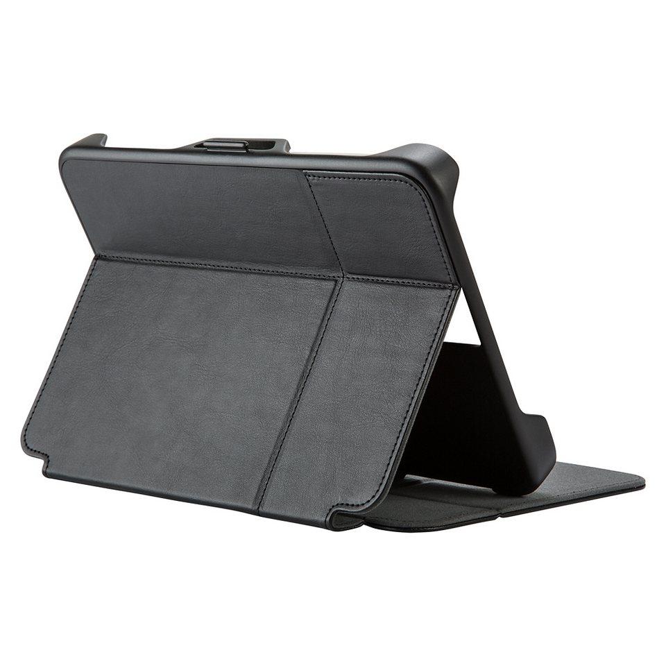 "Speck HardCase »StyleFolio FLEX Universal Tablet 7-8.5"" Black/Slat« in schwarz"
