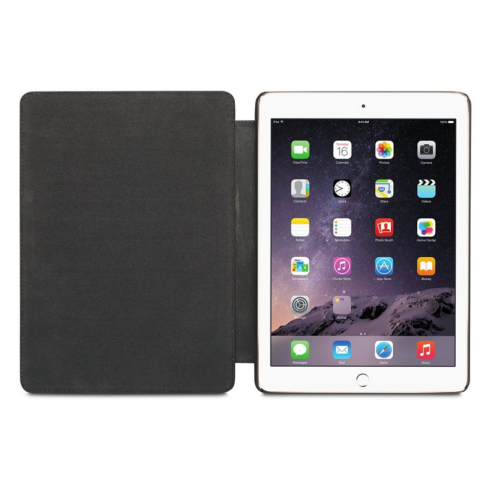 dbramante1928 LederCase »Copenhagen 2 Folio iPad Air (2) Smooth Black« in schwarz