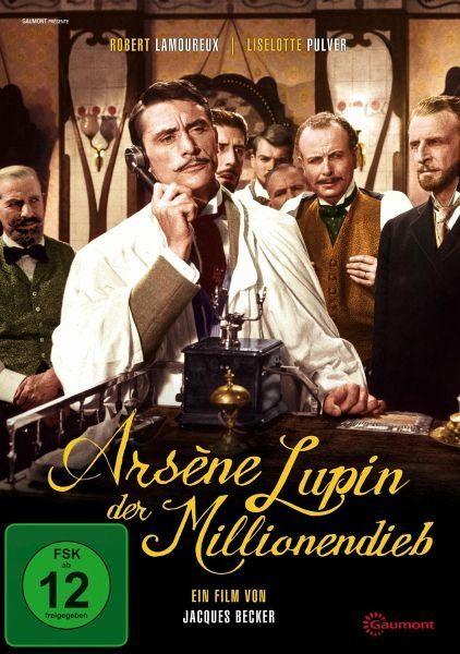 DVD »Arsène Lupin, der Millionendieb«