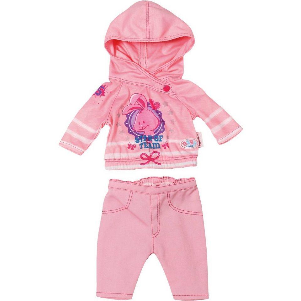 Zapf Creation BABY born® Freizeit Kollektion Puppenkleidung Rosa, 43 cm