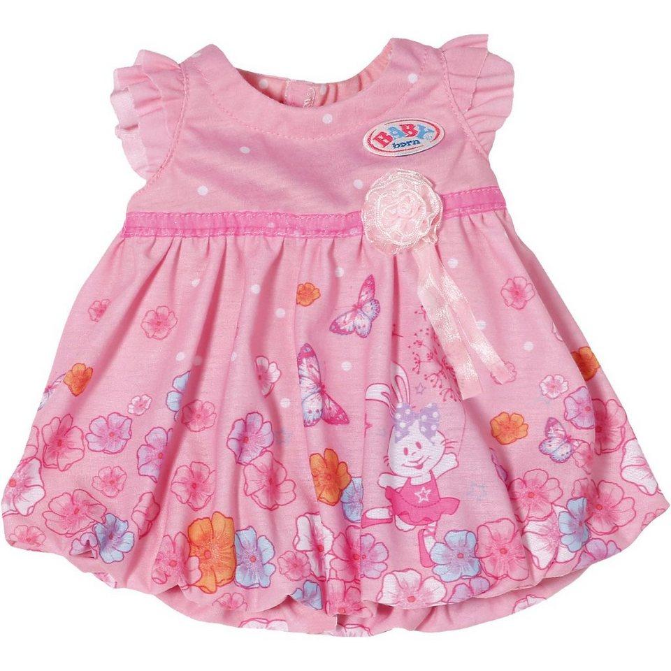 Zapf Creation BABY born® Puppenkleider Kollektion Rosa mit Blumenprint, 4