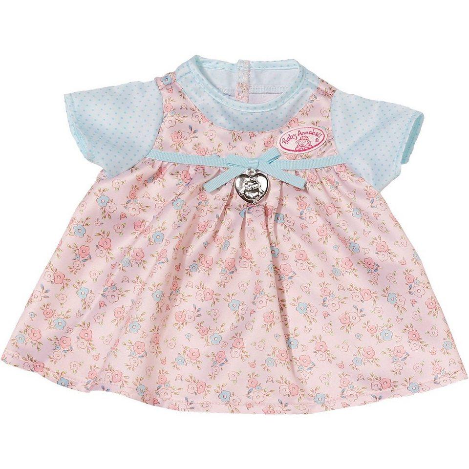 zapf creation baby annabell puppenkleidung kleid mit blauen rmeln 43 cm online kaufen otto. Black Bedroom Furniture Sets. Home Design Ideas