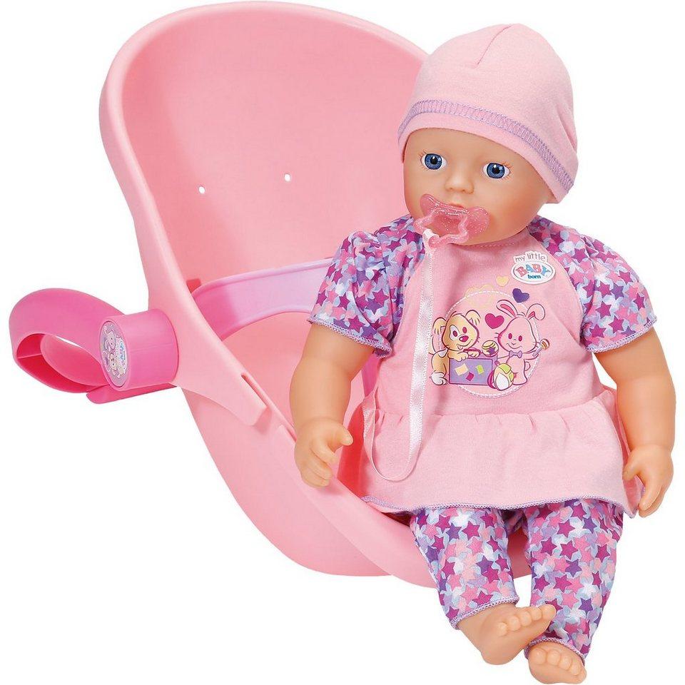 zapf creation my little baby born super soft mit komfortsitz 32 cm online kaufen otto. Black Bedroom Furniture Sets. Home Design Ideas