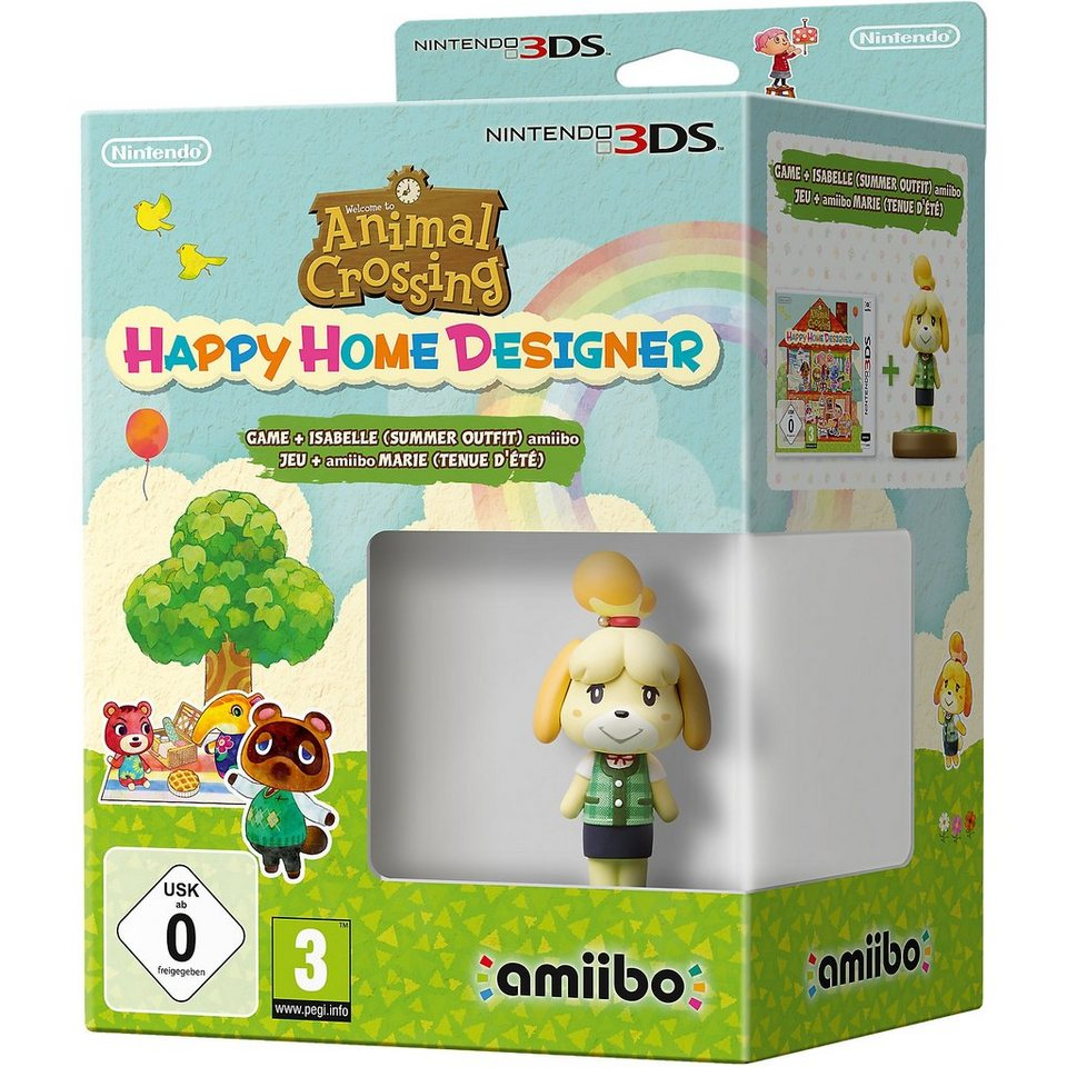 Nintendo 3DS Animal Crossing: Happy Home Designer + amiibo