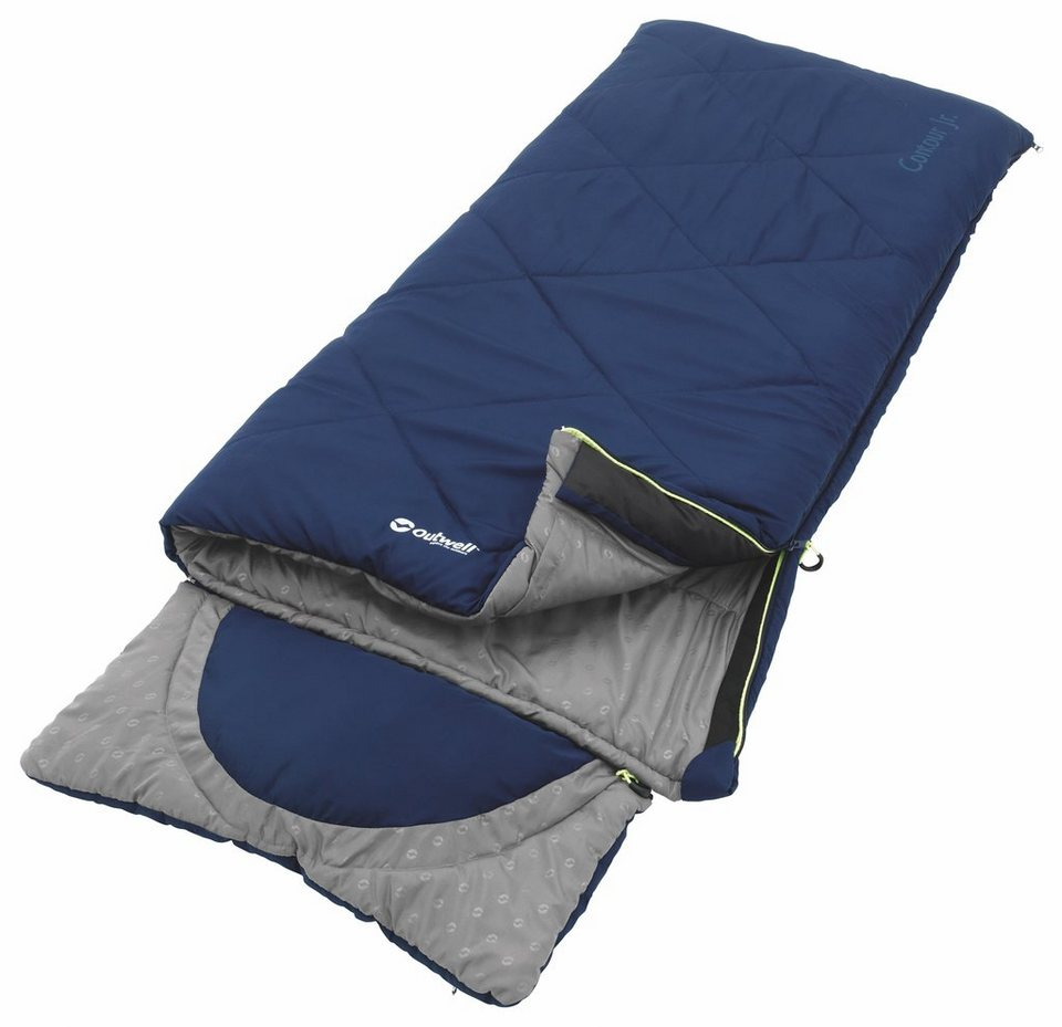 Outwell Schlafsack »Contour Junior Sleeping Bag« in blau