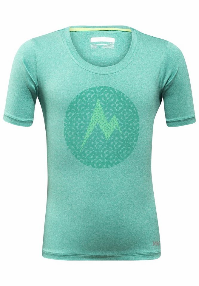 Marmot T-Shirt »Post Time Tee SS Girl« in petrol