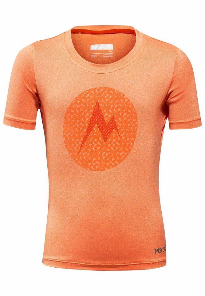 Marmot T-Shirt »Post Time Tee SS Girl« in orange
