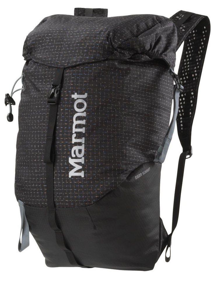 Marmot Sport- und Freizeittasche »Eiger Summit 18L Backpack« in schwarz