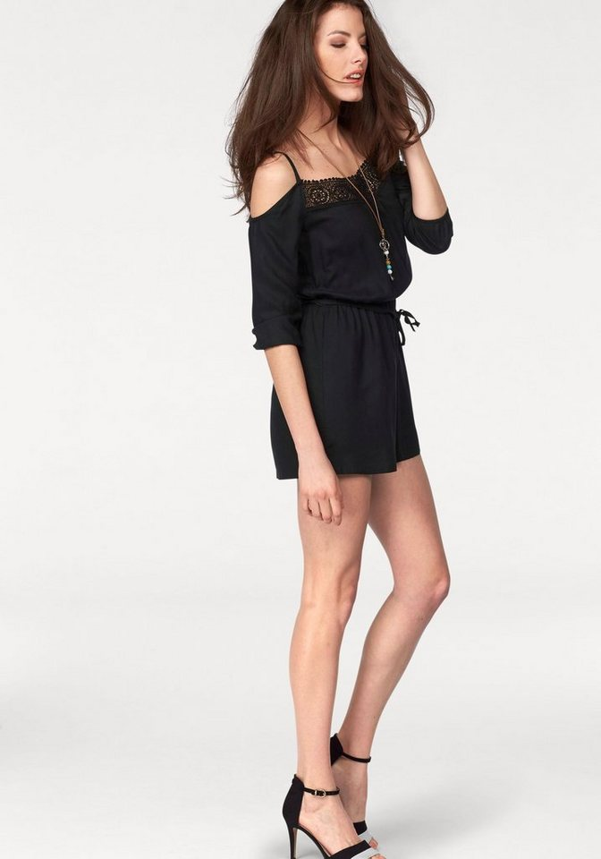 Aniston Overall in schwarz