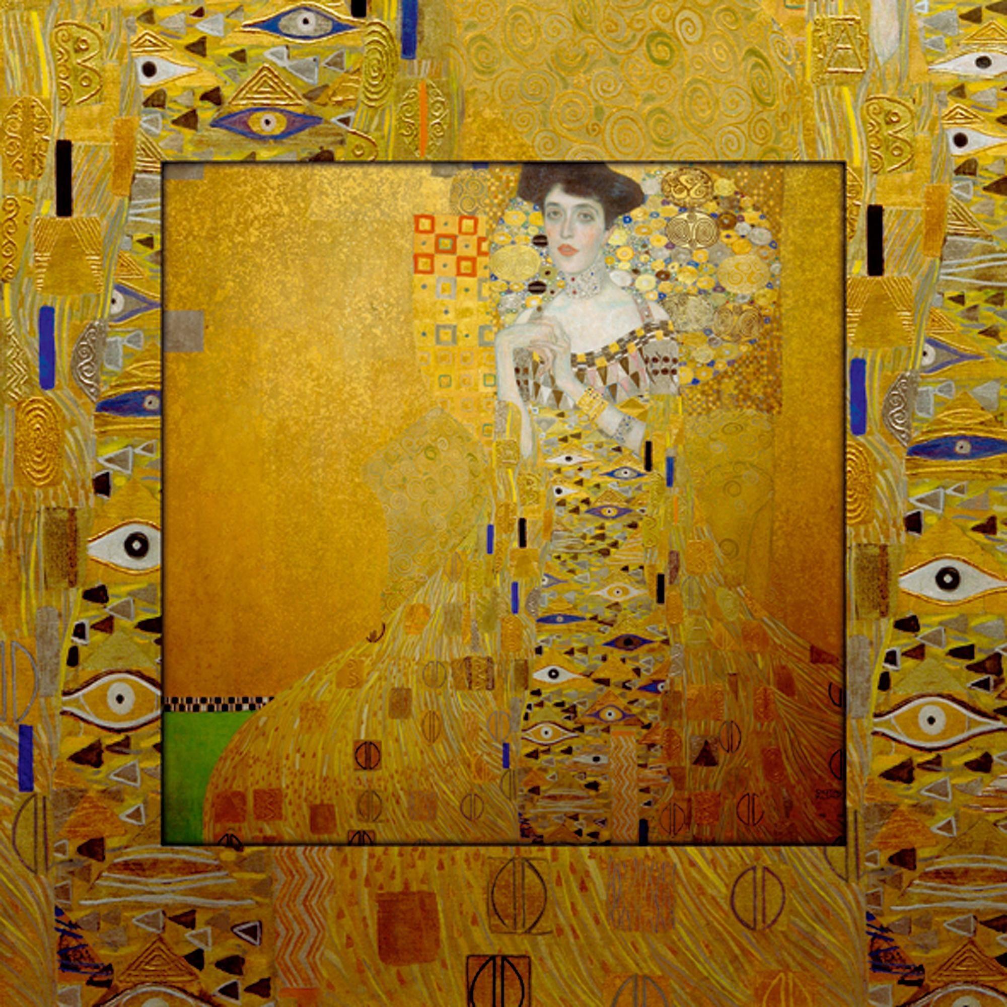 Home affaire Bild, Kunstdruck »G. Klimt: Bloch-Bauer«, 50,4/50,4 cm