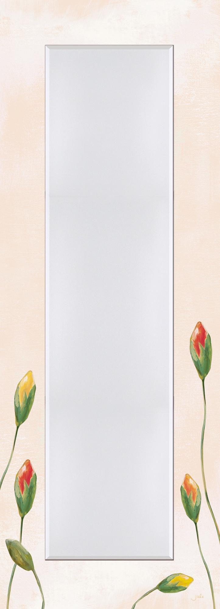 Home affaire, Spiegel, »Jule: Bunte Mohnblumen«, 50,4/140,4 cm