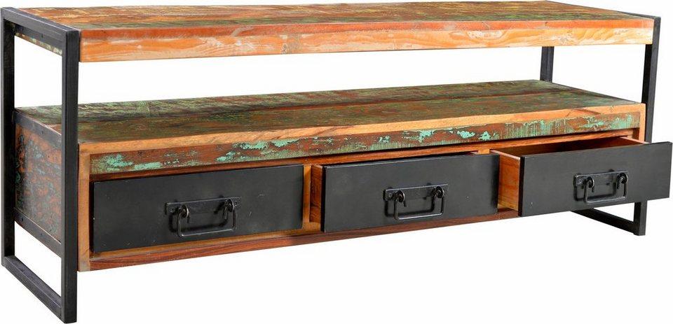 SIT Lowboard »Bali«, 155 cm breit in bunt lackiert