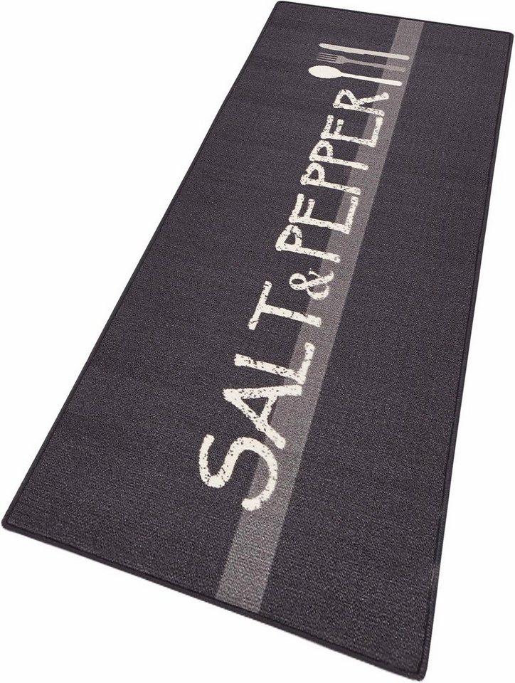 Küchenläufer, Hanse Home, »Salt & Pepper«, getuftet in grau