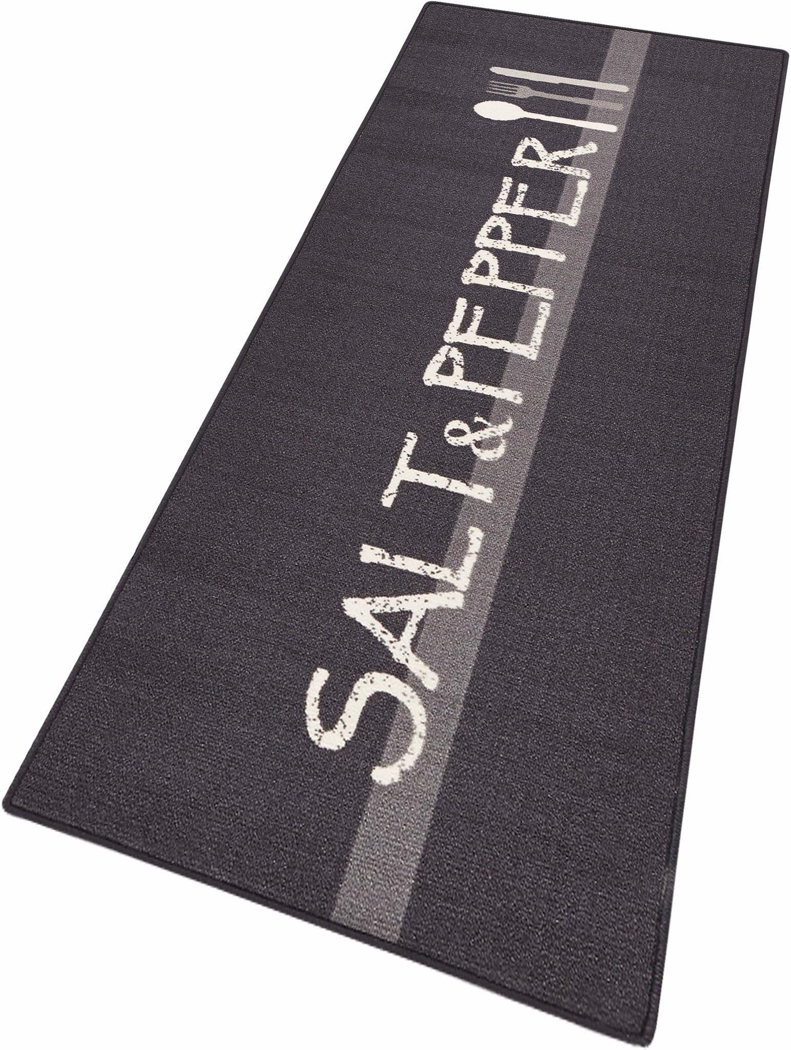Küchenläufer »Salt & Pepper«, HANSE Home, rechteckig, Höhe 8 mm