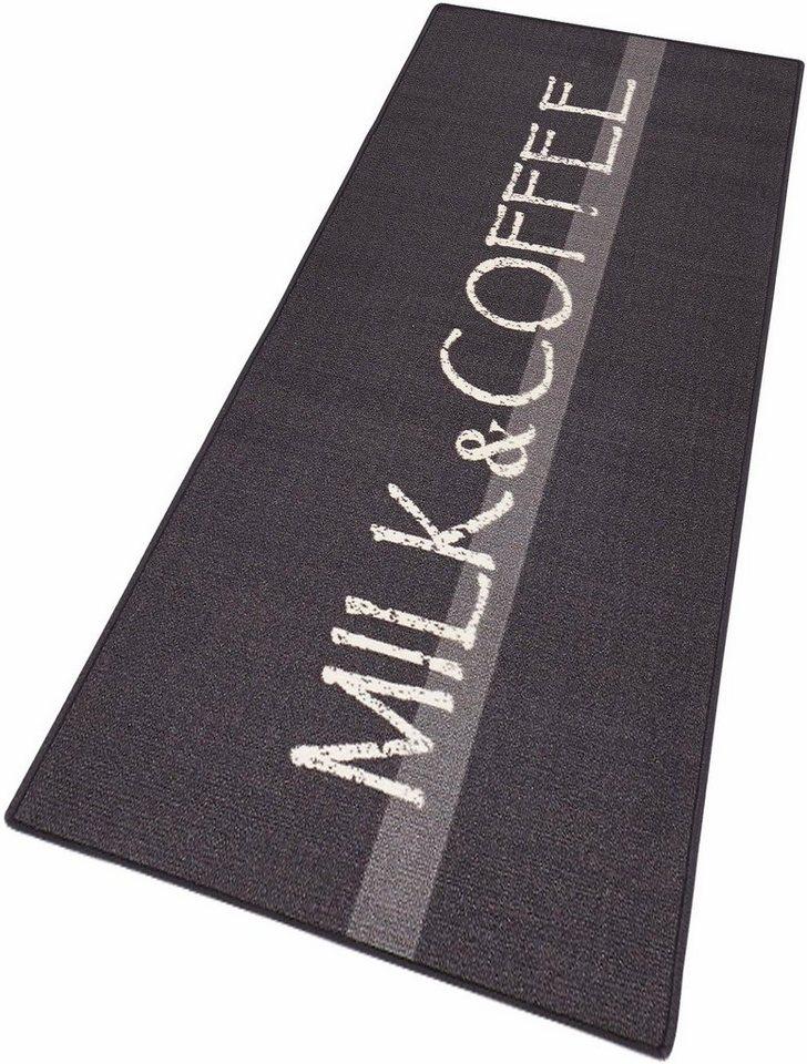 Küchenläufer, Hanse Home, »Milk & Coffee«, getuftet in grau