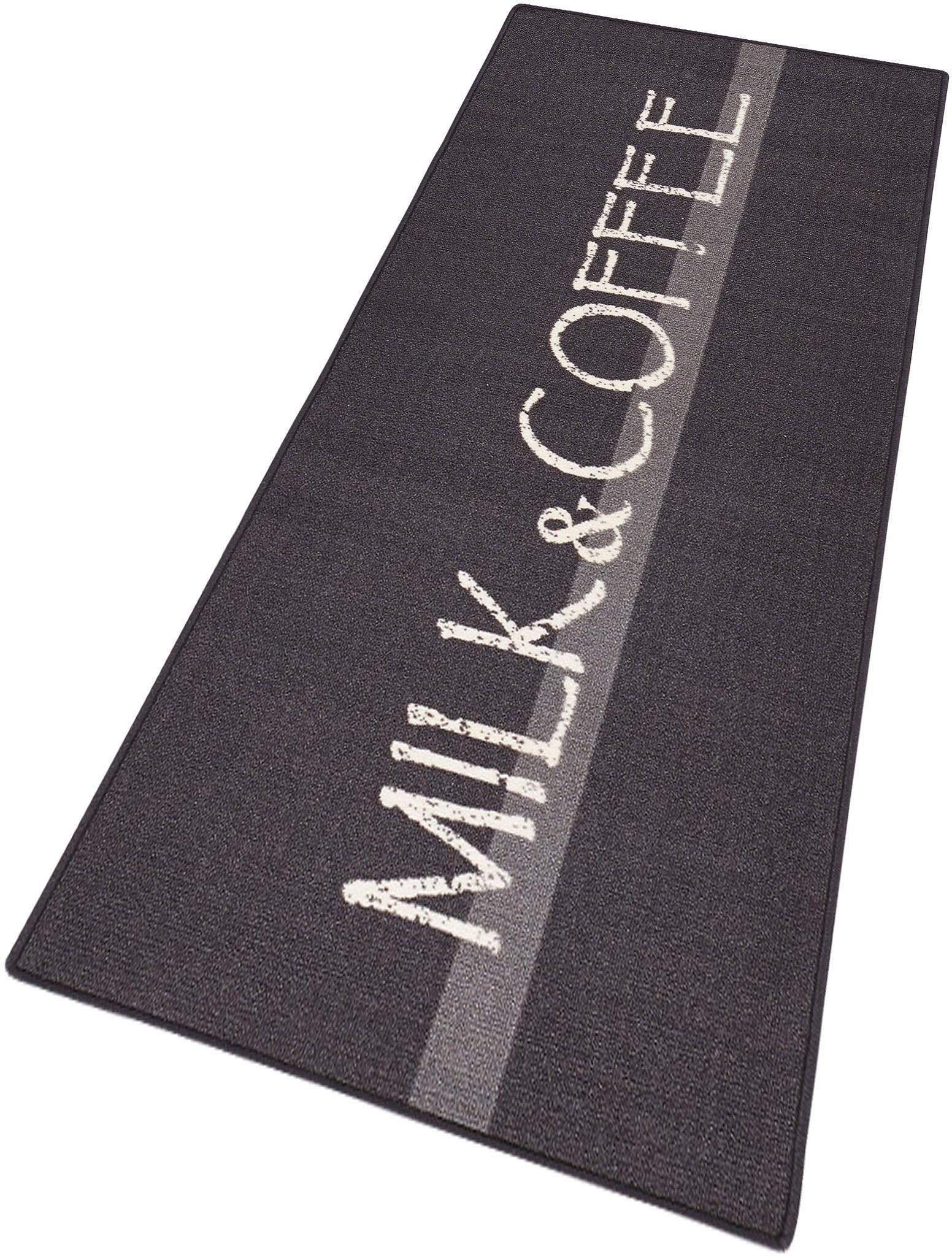 Küchenläufer »Milk & Coffee«, Hanse Home, rechteckig, Höhe 8 mm