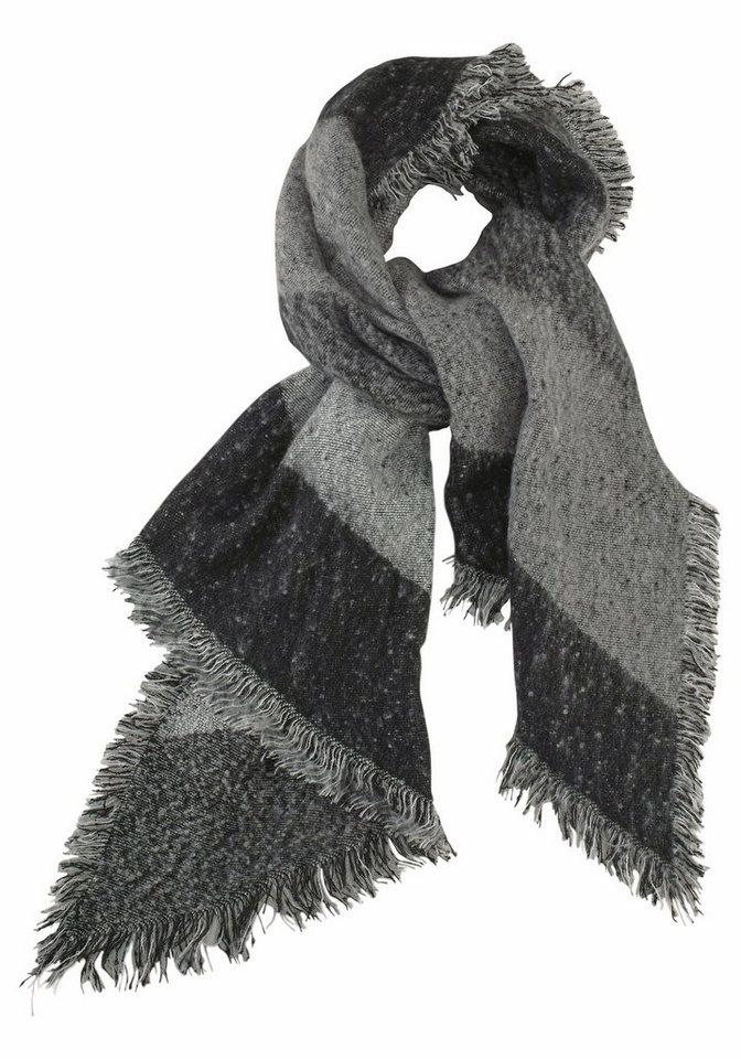 Passigatti Modeschal in angesagter Breite in schwarz