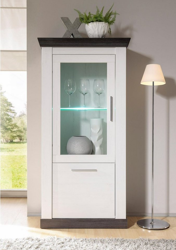 home affaire vitrine siena h he 146 cm kaufen otto. Black Bedroom Furniture Sets. Home Design Ideas