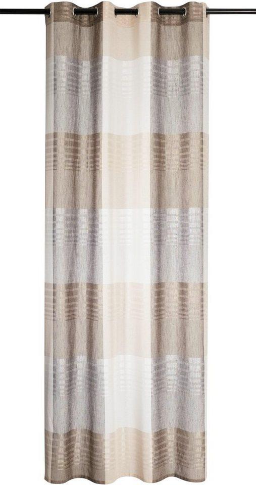 Vorhang, Kutti, »Jamal« (1 Stück) in creme-beige