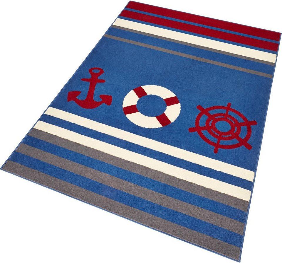 Teppich, Hanse Home, »Maritim«, gewebt in blau