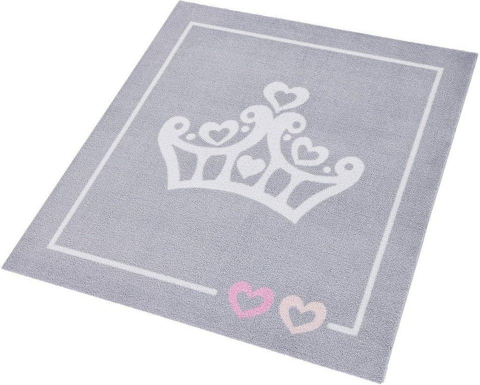 Kinder-Teppich, Zala Living, »Krone«, getuftet in grau