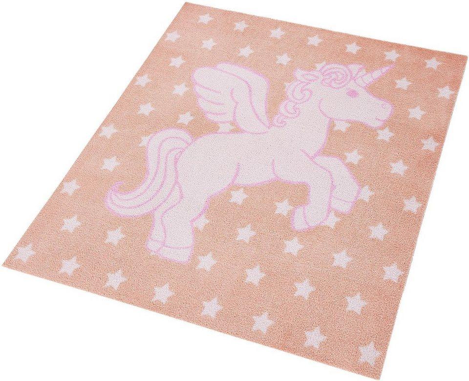 Kinder-Teppich, Zala Living, »Einhorn«, getuftet in rosa