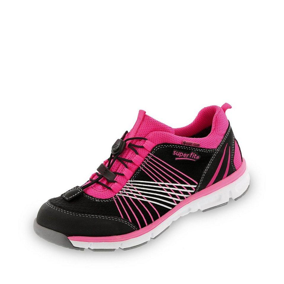 Superfit GORE-TEX® Sneaker in schwarz/pink