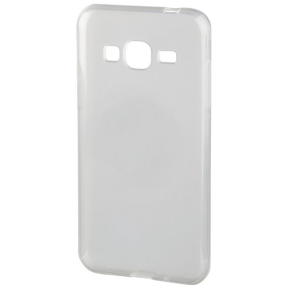 Hama Cover Crystal für Samsung Galaxy J3 (2016), Transparent in Transparent