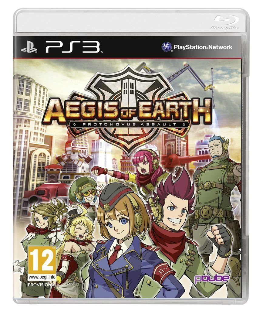 PQube Playstation 3 - Spiel »Aegis of Earth: Protonovus Assault«
