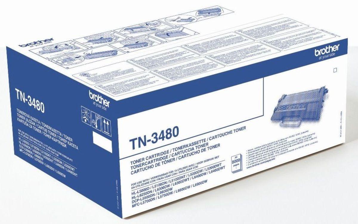 Brother Toner »Toner TN-3480 Schwarz«