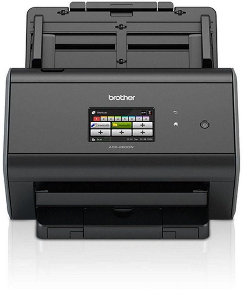 Brother Dokumentenscanner »Dokumentenscanner ADS-2800W« in Schwarz