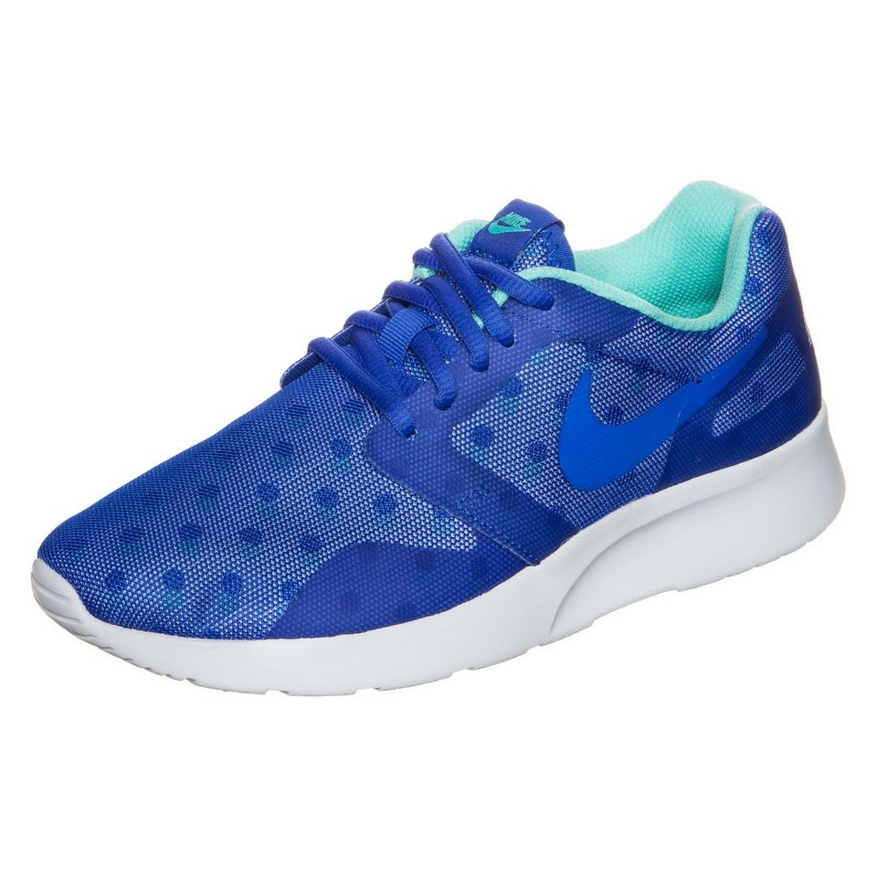 Nike Sportswear Kaishi Run Print Sneaker Damen in blau / weiß / mint