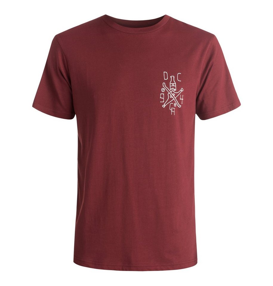 DC Shoes T-Shirt »Truck Bottle« in Syrah