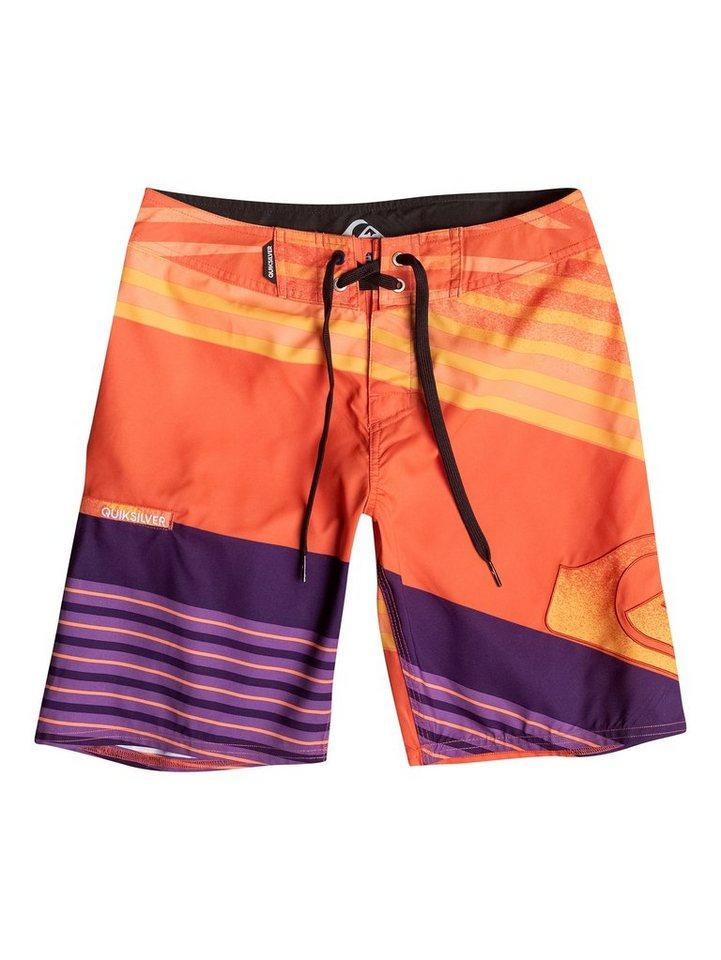 Quiksilver Boardshort »Incline Logo 17« in shocking orange