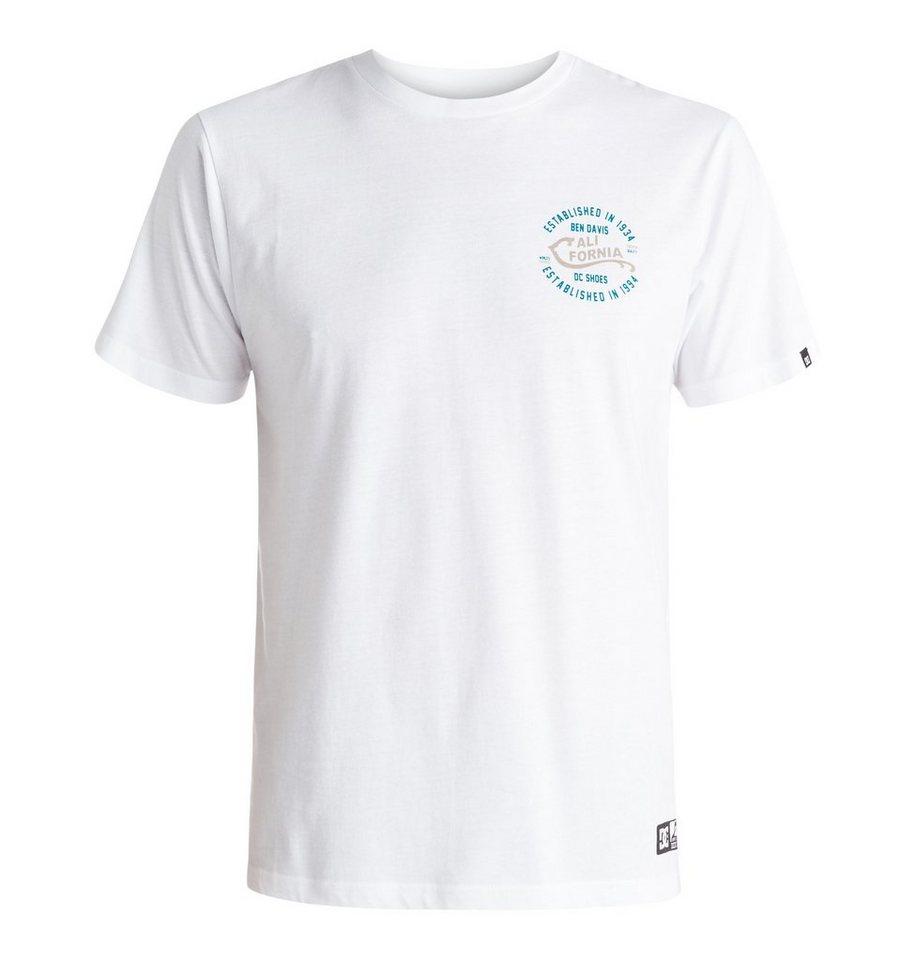 DC Shoes T-Shirt »Califorya« in White