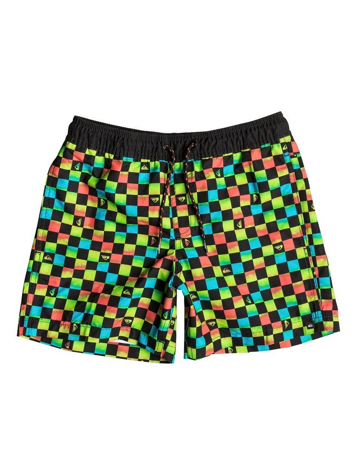 Quiksilver Boardshort »Mini Check 13« in mini check black
