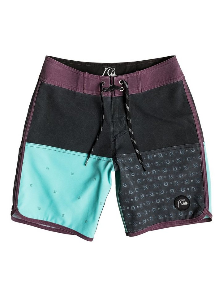 Quiksilver Boardshort »Quad Block 16« in black