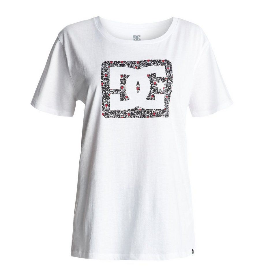 DC Shoes T-Shirt »Reeves Blackher« in White