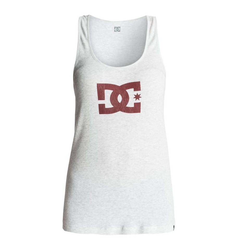 DC Shoes Tank »Star« in Light heather grey
