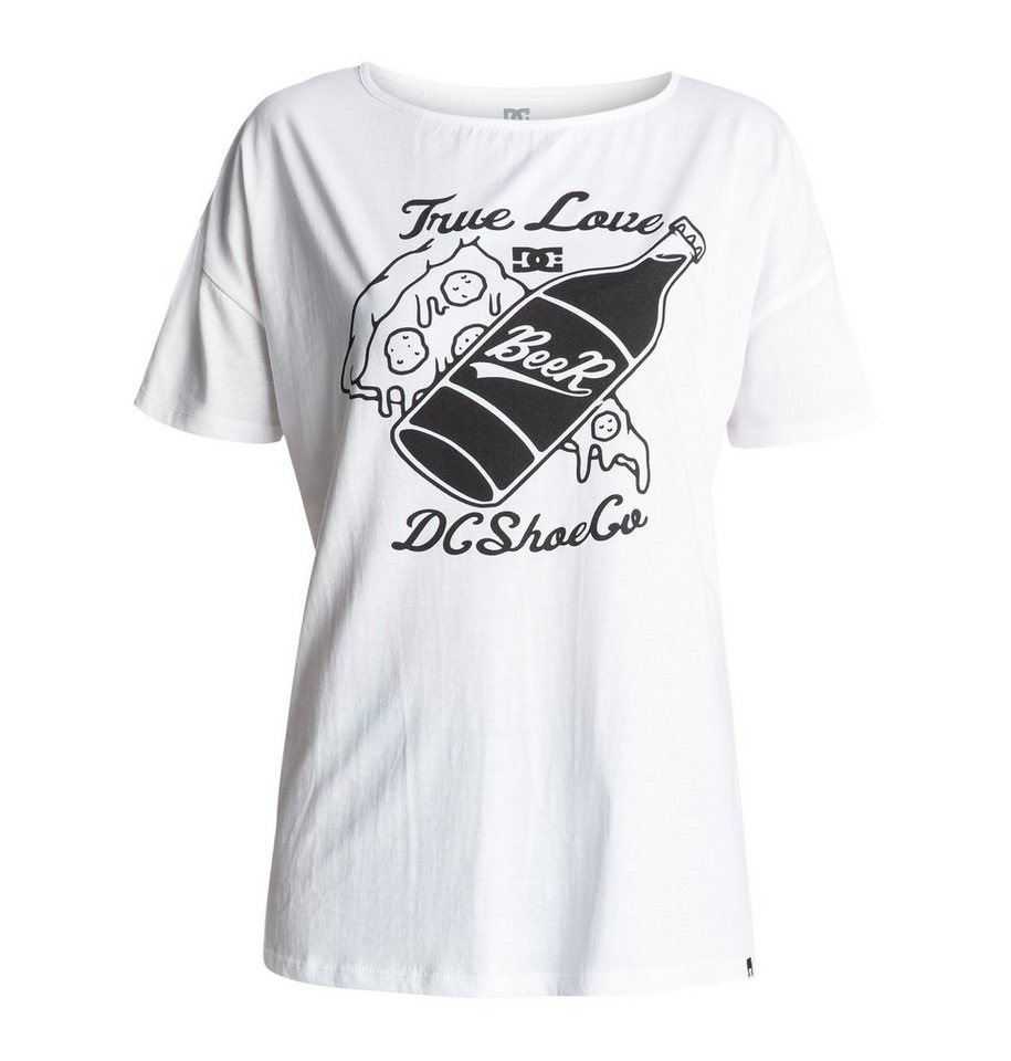 DC Shoes T-Shirt »Tchonga Loose« in White