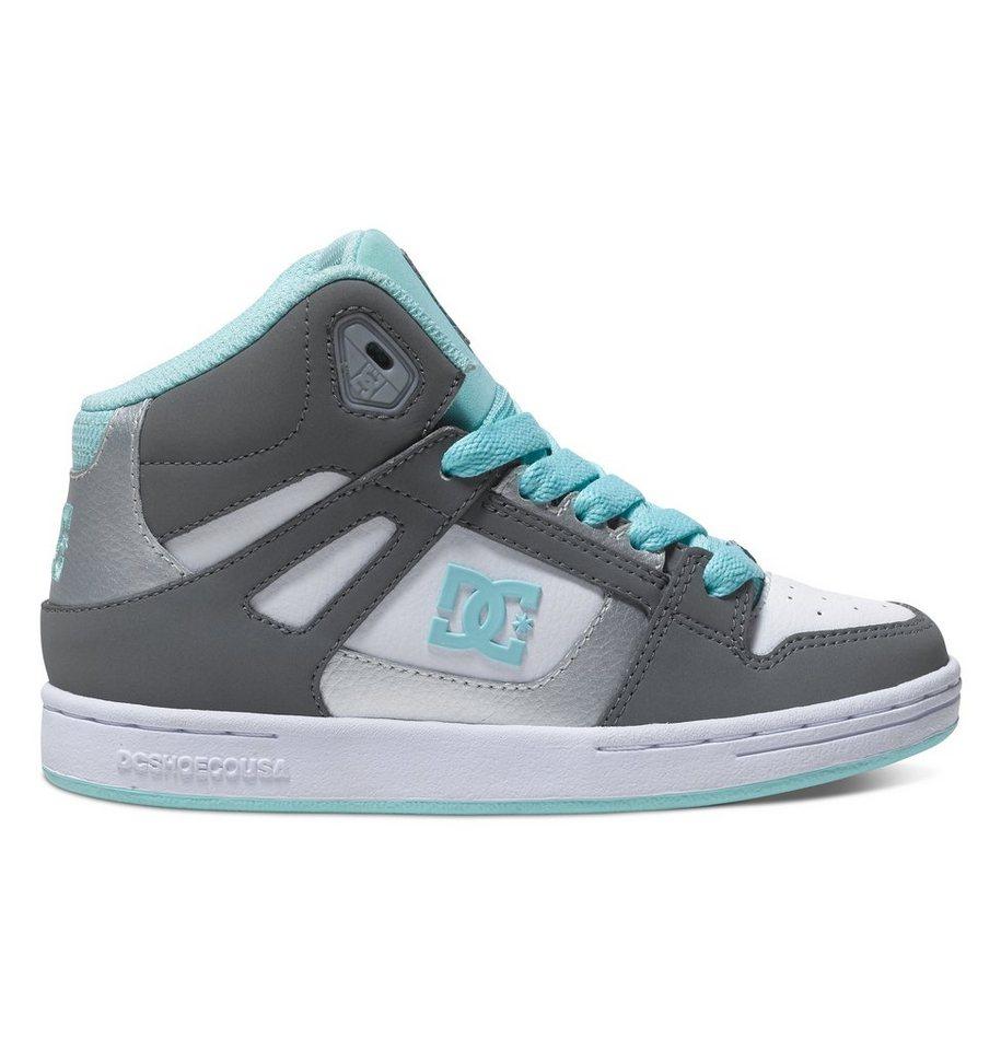 DC Shoes Hi-top »Rebound« in grey/blue/white