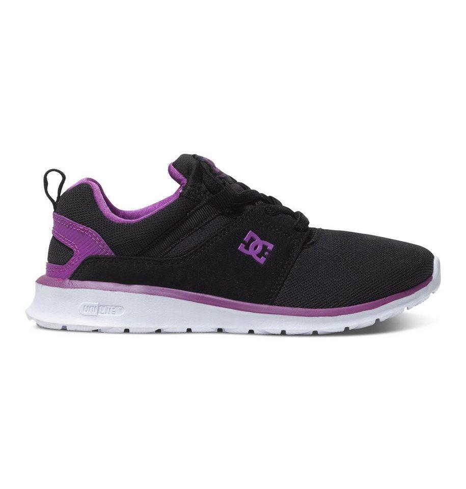 DC Shoes Low top »Heathrow« in Black/purple