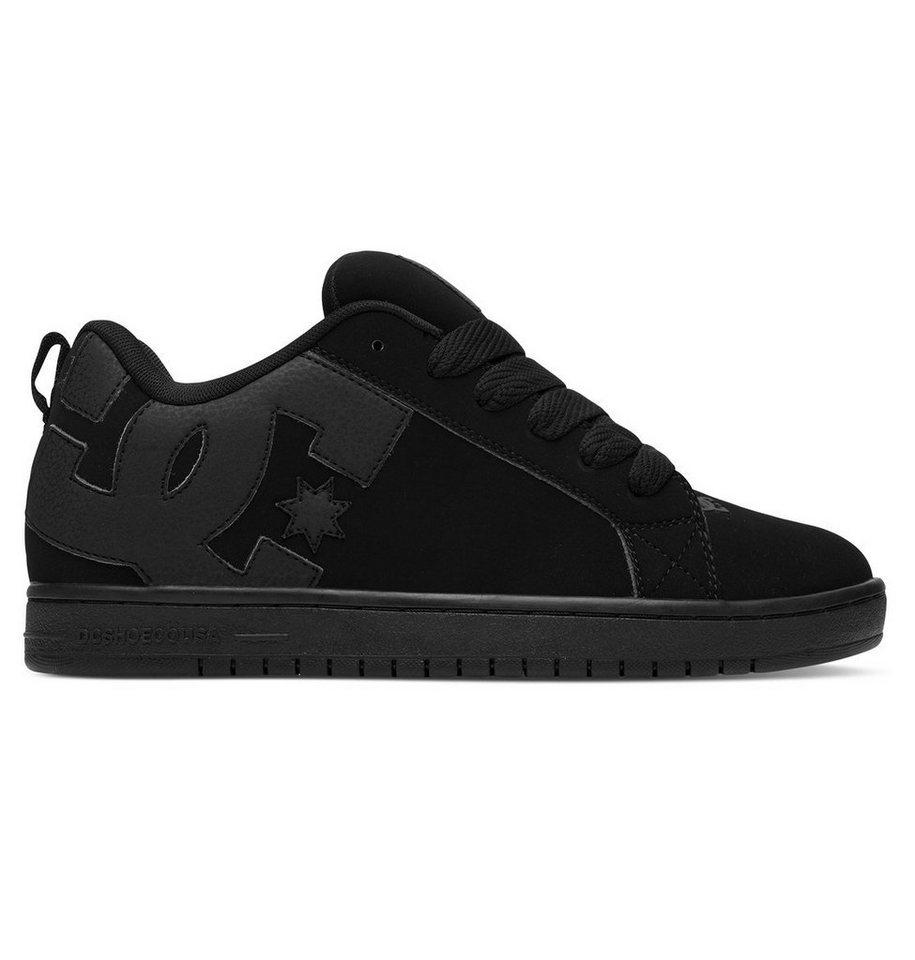 DC Shoes Low top »Court Graffik« in Black/black/black