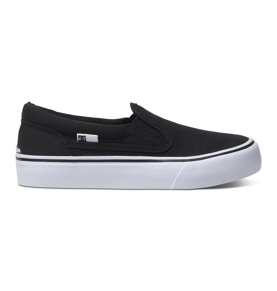 DC Shoes Schuhe »Trase SE« in black/white