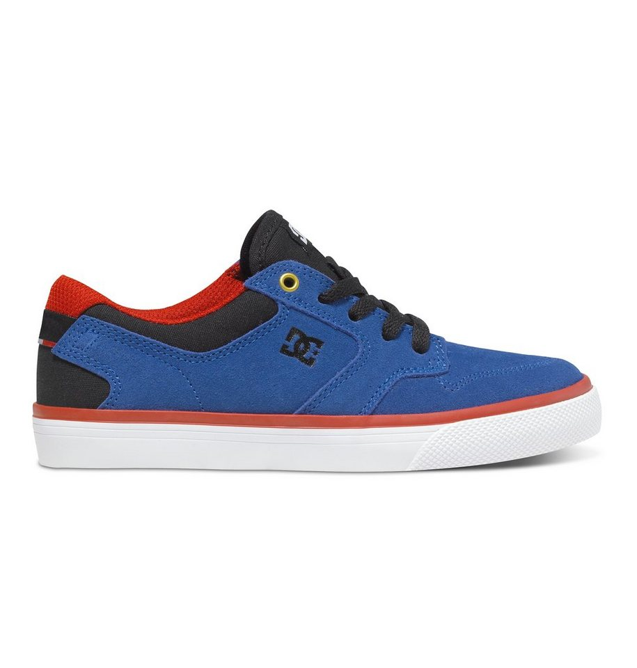 DC Shoes Low top »Argosy Vulc« in royal/black/red