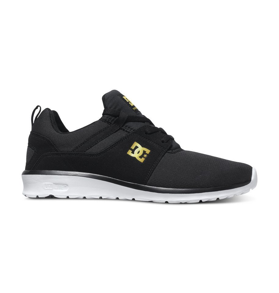 DC Shoes Low top »Heathrow SE« in Black/gold