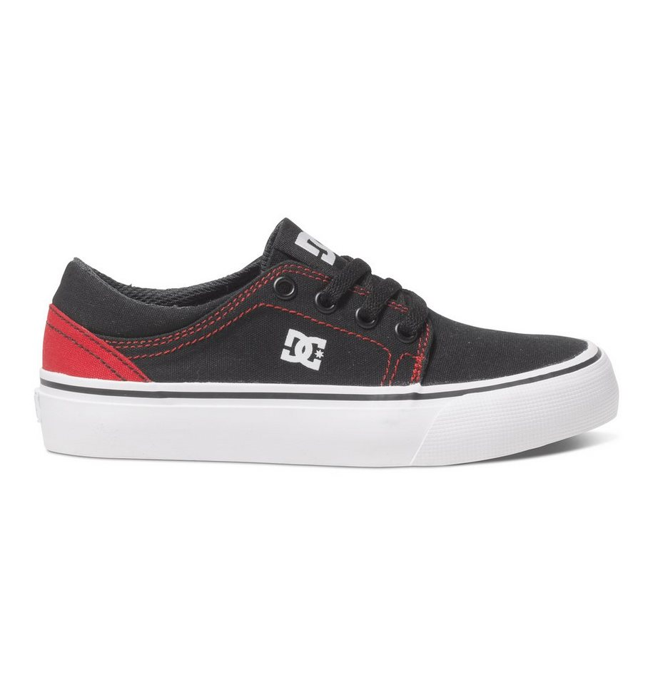 DC Shoes Low top »Trase TX« in Black/red