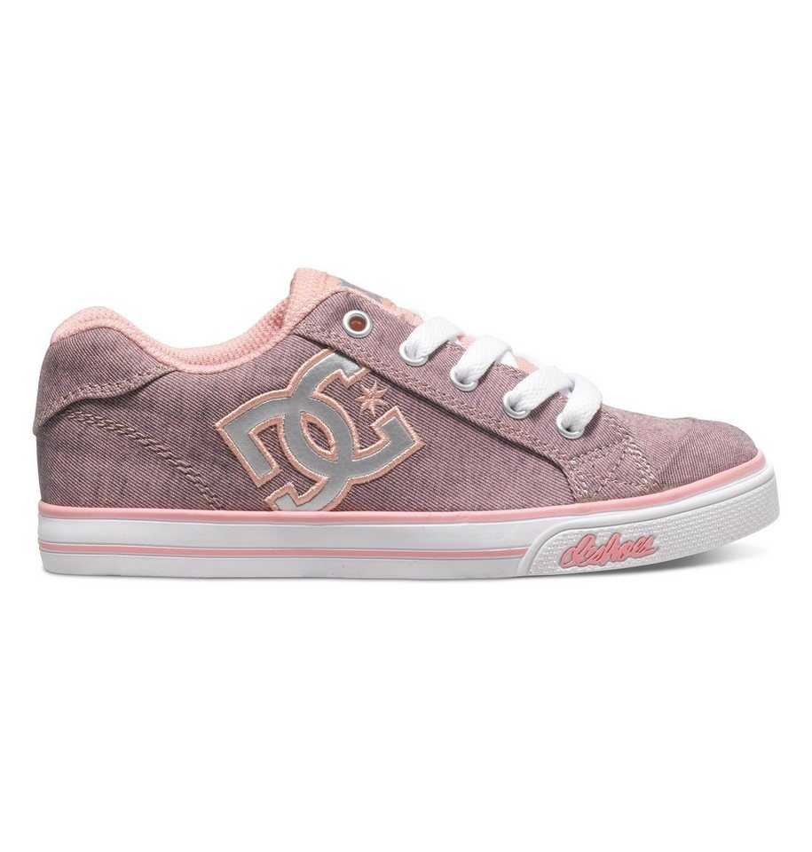 DC Shoes Low top »Chelsea TX SE« in Pink with silver