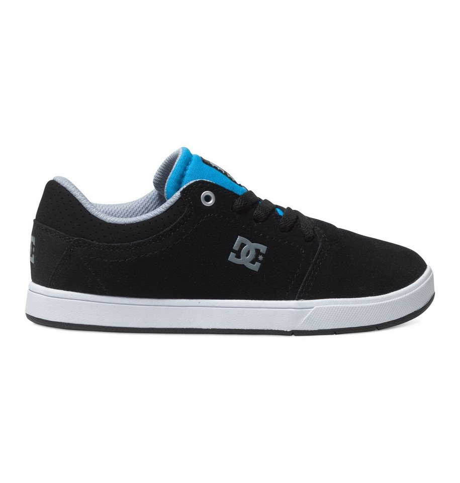 DC Shoes Low Tops »Crisis« in black/orange/blue